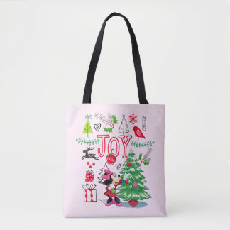Minnie Mouse | Minnie's Christmas Joy Tote Bag