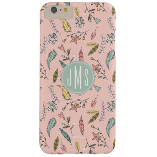 Minnie Mouse | Monogram Adventures Await Pattern Barely There iPhone 6 Plus Case