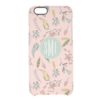 Minnie Mouse | Monogram Adventures Await Pattern Clear iPhone 6/6S Case