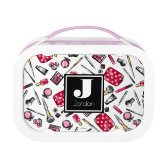Minnie Mouse | Monogram #what'sinmypurse Pattern Lunch Box