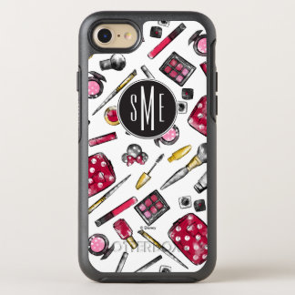 Minnie Mouse | Monogram #what'sinmypurse Pattern OtterBox Symmetry iPhone 7 Case