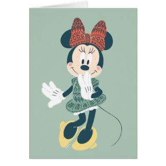 Minnie Mouse   Never Stop Exploring Card