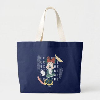Minnie Mouse | Never Stop Exploring Large Tote Bag