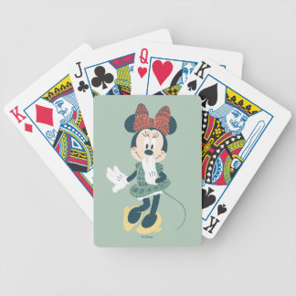 Minnie Mouse | Never Stop Exploring Poker Deck