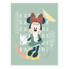 Minnie Mouse | Never Stop Exploring Postcard