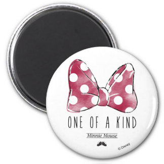 Minnie Mouse | One Of A Kind 2 Inch Round Magnet