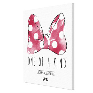 Minnie Mouse | One Of A Kind 4 Canvas Print