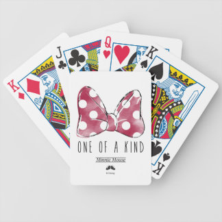 Minnie Mouse | One Of A Kind Bicycle Playing Cards