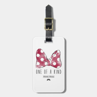 Minnie Mouse | One Of A Kind Luggage Tag