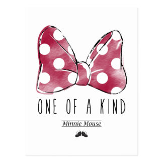 Minnie Mouse | One Of A Kind Postcard