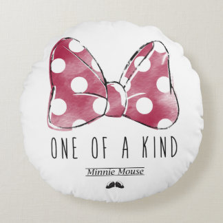 Minnie Mouse | One Of A Kind Round Pillow