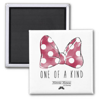 Minnie Mouse | One Of A Kind Square Magnet