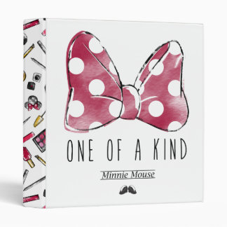 Minnie Mouse | One Of A Kind Vinyl Binders