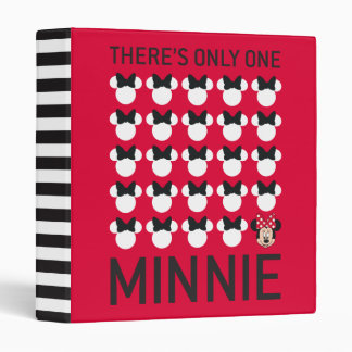 Minnie Mouse | Only One Minnie 3 Ring Binder