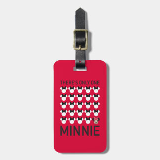 Minnie Mouse | Only One Minnie Bag Tag