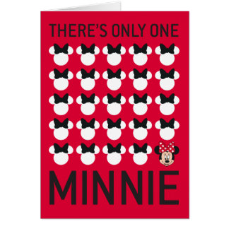 Minnie Mouse | Only One Minnie Card