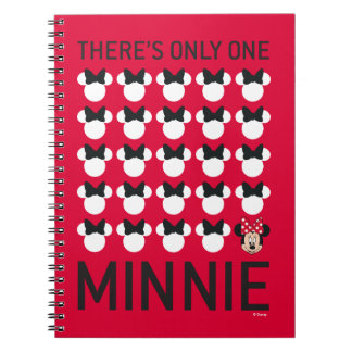 Minnie Mouse | Only One Minnie Spiral Notebook