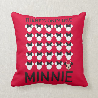 Minnie Mouse | Only One Minnie Throw Pillow