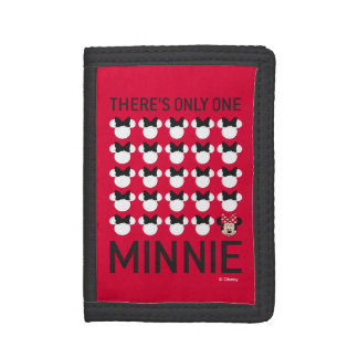 Minnie Mouse | Only One Minnie Tri-fold Wallets
