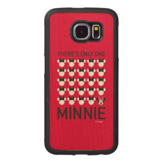 Minnie Mouse | Only One Minnie Wood Phone Case
