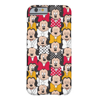 Minnie Mouse | Pattern Barely There iPhone 6 Case