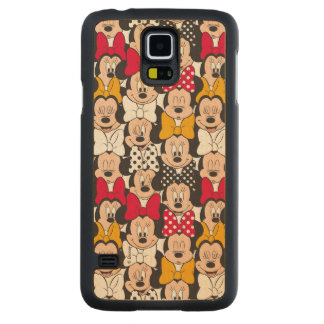 Minnie Mouse | Pattern Carved Maple Galaxy S5 Case