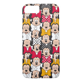 Minnie Mouse   Pattern iPhone 8/7 Case