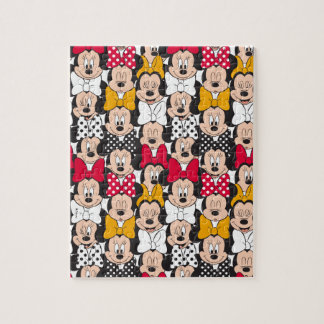 Minnie Mouse | Pattern Jigsaw Puzzle