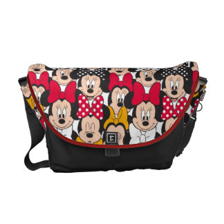 Minnie Mouse | Pattern Messenger Bags
