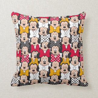 Minnie Mouse | Pattern Throw Pillow