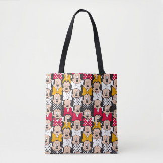 Minnie Mouse | Pattern Tote Bag