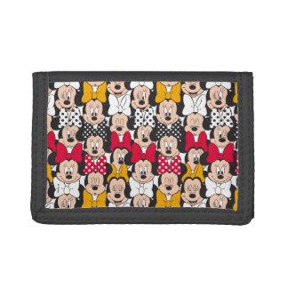 Minnie Mouse | Pattern Tri-fold Wallet