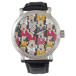 Minnie Mouse | Pattern Wristwatch