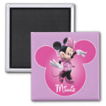 Minnie Mouse Pink Refrigerator Magnets