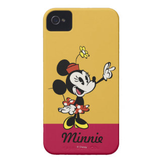 Minnie Mouse Pointing iPhone 4 Case-Mate Case