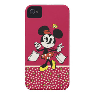 Minnie Mouse Shopping iPhone 4 Case-Mate Case