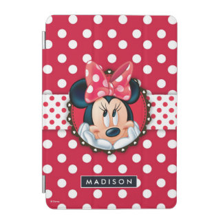 Minnie Mouse | Smiling on Polka Dots iPad Mini Cover