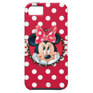 Minnie Mouse | Smiling on Polka Dots iPhone 5 Cover