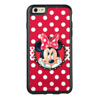 Minnie Mouse | Smiling on Polka Dots OtterBox iPhone 6/6s Plus Case