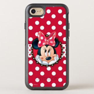 Minnie Mouse | Smiling on Polka Dots OtterBox Symmetry iPhone 8/7 Case