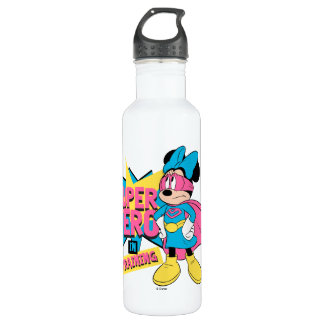 Minnie Mouse | Super Hero in Training 710 Ml Water Bottle