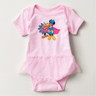 Minnie Mouse | Super Hero in Training Baby Bodysuit