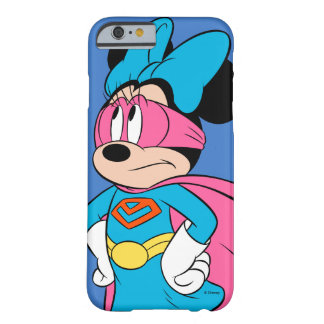 Minnie Mouse | Super Hero in Training Barely There iPhone 6 Case