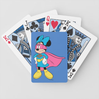 Minnie Mouse | Super Hero in Training Bicycle Playing Cards