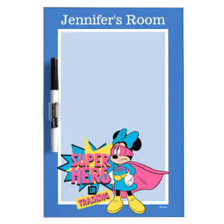 Minnie Mouse | Super Hero in Training Dry Erase Board