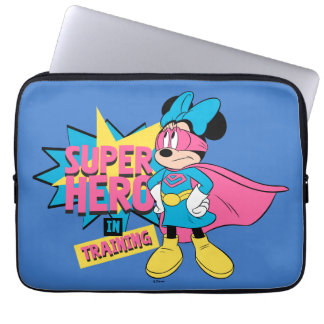 Minnie Mouse | Super Hero in Training Laptop Sleeve