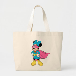 Minnie Mouse | Super Hero in Training Large Tote Bag