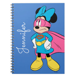 Minnie Mouse | Super Hero in Training Notebook