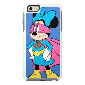 Minnie Mouse | Super Hero in Training OtterBox iPhone 6/6s Plus Case