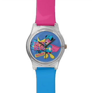 Minnie Mouse | Super Hero in Training Wrist Watch